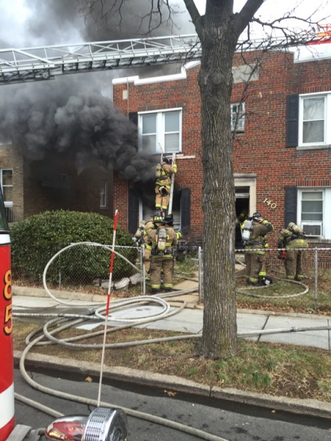 Washington DC 2-Alarm Fire with Heavy Content Challenges